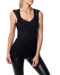 Kourtney Lace Top Black