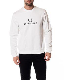 Monochrome Tennis Sweatshirt White