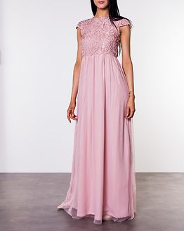 Ariella Prom Dress Dusty Pink