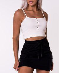 Eva Short Cargo Skirt Black
