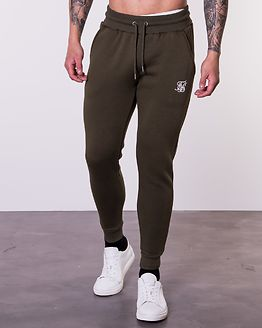 Muscle Fit Jogger Khaki