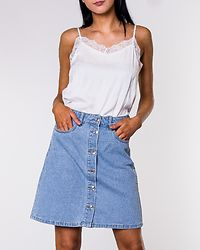 Farrah Regular Denim Skirt Light Blue Denim