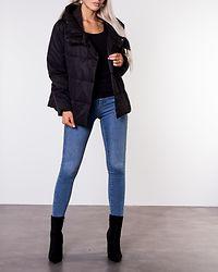 June Quilted Jacket Black