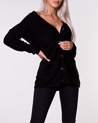 Peggy Treats Cardigan Knit Black