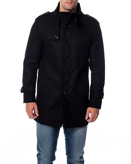 Covent Wool Jacket Black