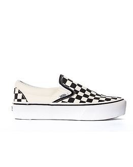 Classic Platform Slip-On Black/White