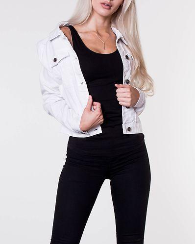 Debra Denim Jacket Bright White 35ee1afe80