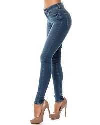 Five Delly Jeans Medium Blue Denim
