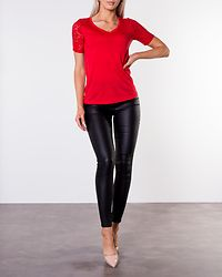 Stinne Lace Top High Risk Red