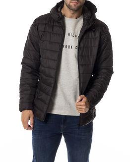 Eddi Hooded Puffer Jacket Black