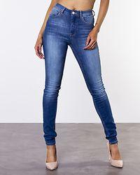 Piper HW Jeans Medium Blue Denim