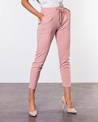 Eva Loose String Pants Misty Rose