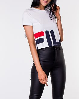 Early Cropped Tee Bright White