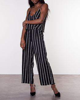 Floria Jumpsuit Black/White