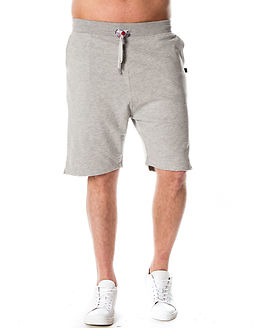 Terry Loose Short Grey Marl