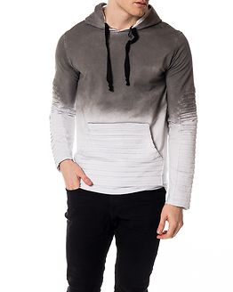 Biker Hoodie Anthracite-White Sprayed