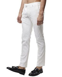 Ellroy Trousers White
