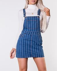 Dina Stripe Spencer Denim Medium Blue/White