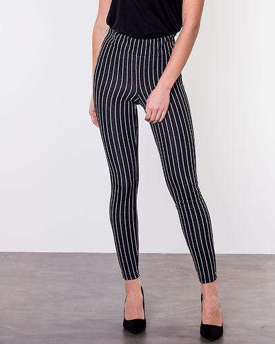 c89269c0e7e Ditte Pin-Stripe Leggings Black/Striped