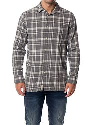 Troy Shirt One Pocket Grey Melange