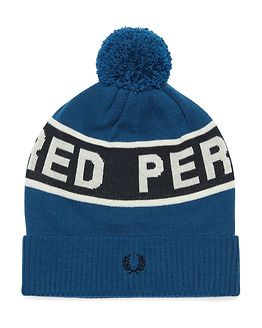 Fred Perry Ski Beanie Estate Blue/Navy