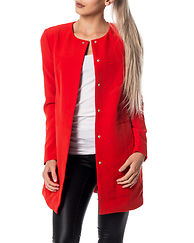 Nola Win 3/4 Jacket High Risk Red