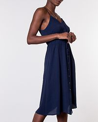 Sasha Singlet Dress Navy Blazer