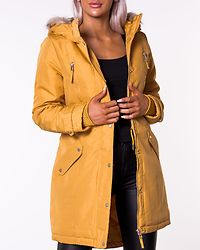 Track Expedition 3/4 Parka Amber Gold