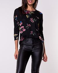 Malena Blouse Black/Marie