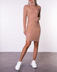 Starkey Rollneck Knit Dress Light Camel