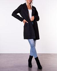 Carrie Bonded Coat Black