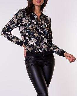 Hanna Jacket Black/Patterned