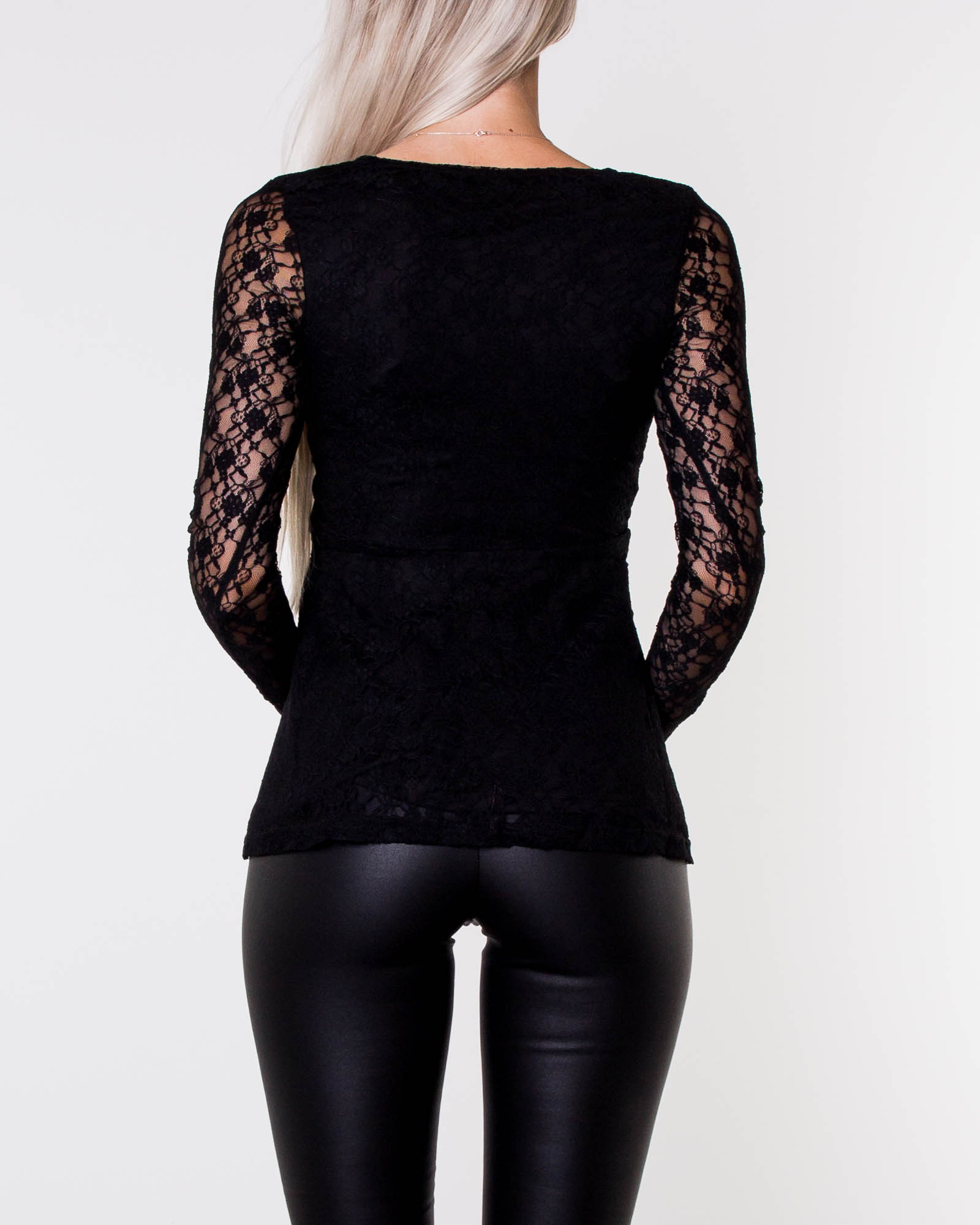 Elina Lace Top Black 0e09e1f8dd