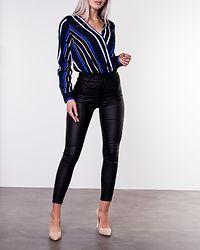 Oliwia Body Blouse Blue/White/Stripe