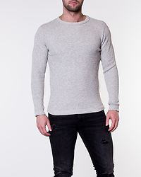 Victor Crew Neck Light Grey/Twisted White
