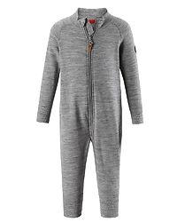 Parvin Thermal Overall Grey Melange