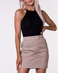 Daya Short Utility Cot Skirt Silver Mink