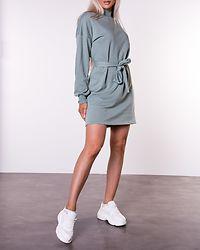 Aliah Sweat Dress Slate Gray