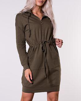 Pari Sweat Dress Khaki