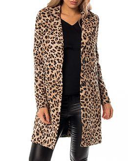 Teca Coat Humus/Leopard