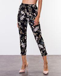 Hazel Tricot Pants Black/Patterned