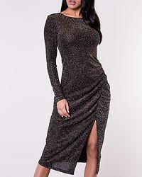 Olieve Sparkling Dress Black/Silver