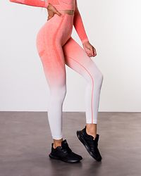 Ombre 7/8 Tights Fire Orange