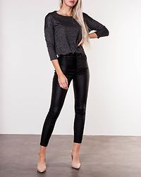 Malena Blouse Dark Grey Melange