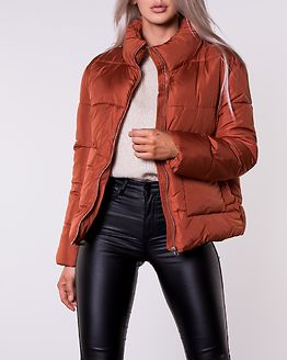 Hesh Puffer Bomber Jacket Picante