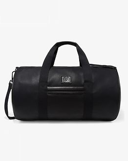 Tumbled Barrel Bag Black