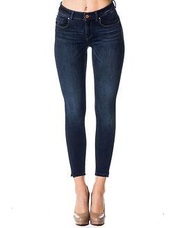 Dylan Pushup Jeans Dark Blue Denim