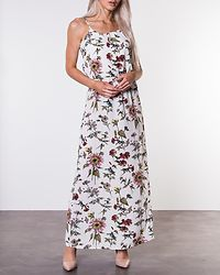 Winner Maxi Dress Cloud Dancer/Botanical