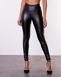 Andrea Coated Leggings Black
