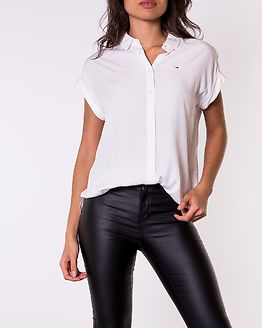 Roll Up Sleeve Shirt White